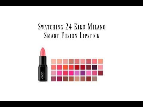 kiko-milano-smart-fusion-lipstick/24-swatches