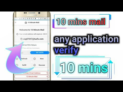 Use Of 10 Minute Mail For Creating Unlimited Facebook Account In 2 Minutes With Proof