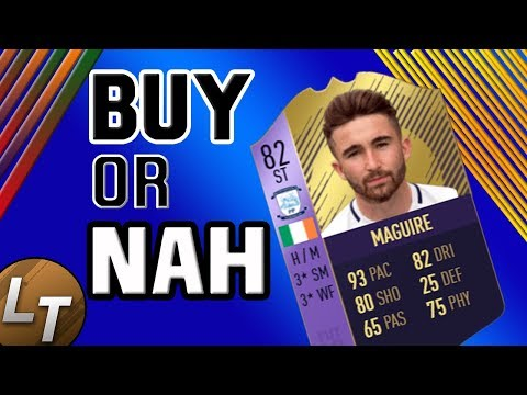 POTY Sean Maguire !    Buy or Nah    FIFA 18 Player  Series