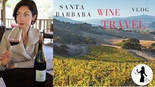 Santa Barbara wine tour VLOG - Pinot Noir California style