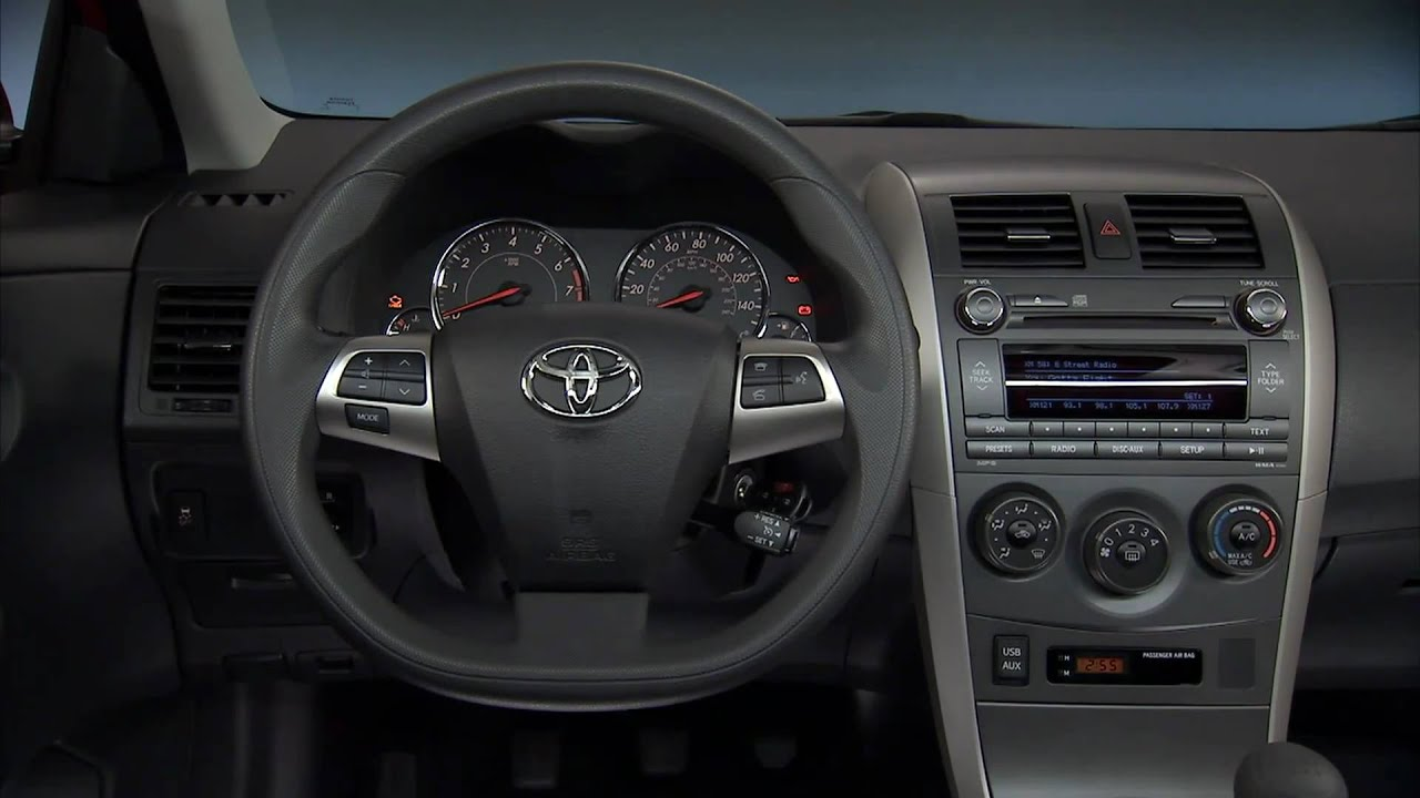 2011 Toyota Corolla Interior Youtube