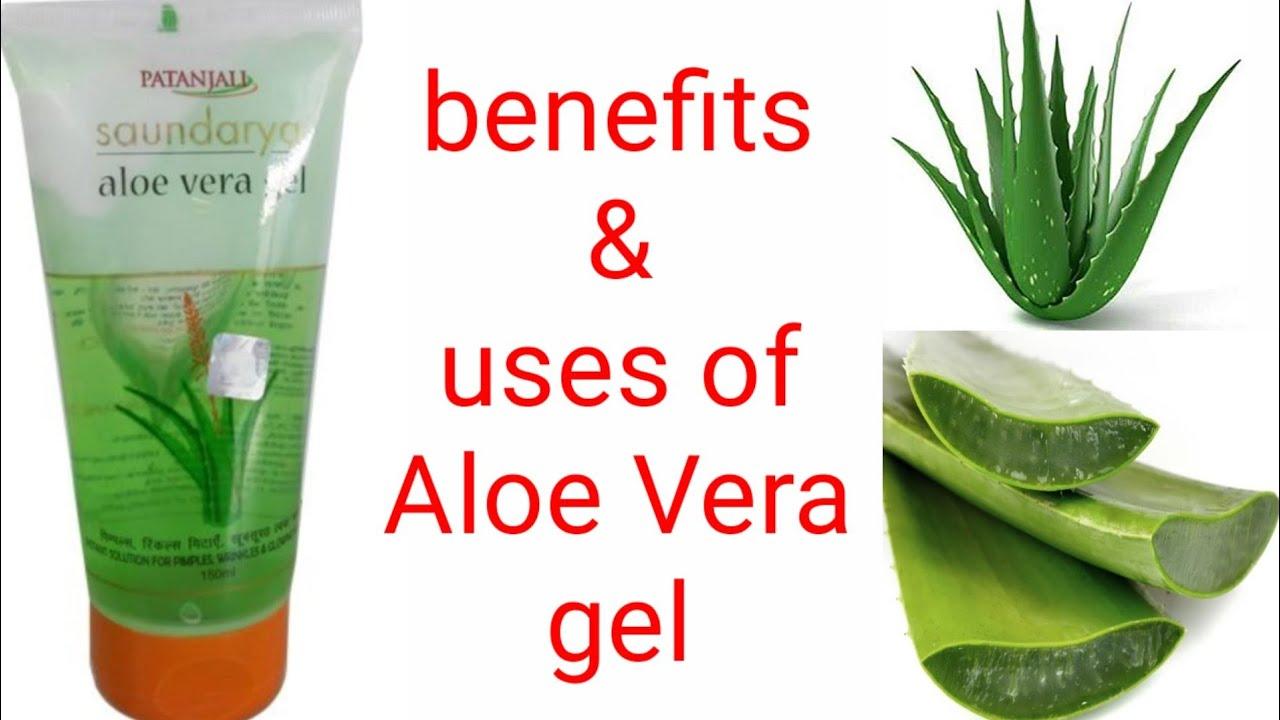 (Hindi) Aloe vera gel benefits & uses.(Sanjana) - YouTube