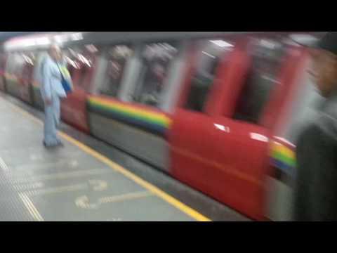 Metro de Caracas Alstom Metropolis Serie 9000 en Linea 3 con destino Plaza Venezuela
