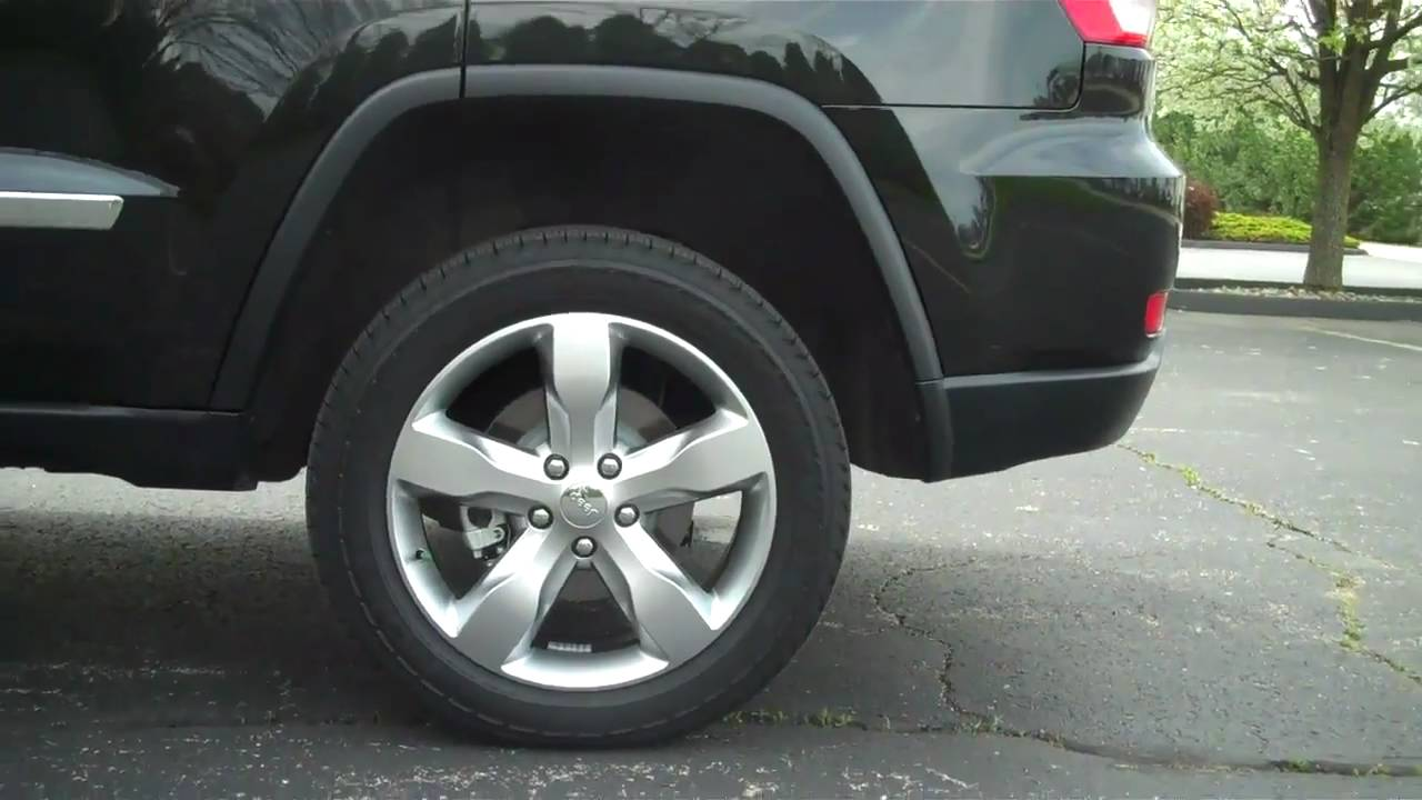 2011 jeep grand cherokee overland quadra lift air suspension [ 1280 x 720 Pixel ]