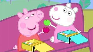 Peppa Pig Full Episodes | School Bus Trip  | Kids Videos