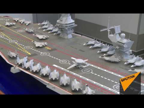 Plan for new Russian heavy aircraft carrier Chtorm (Storm) to replace French Mistral
