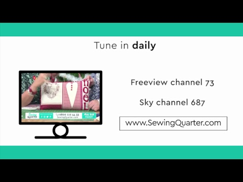 Sewing Quarter - Tuesday 12th March 2019