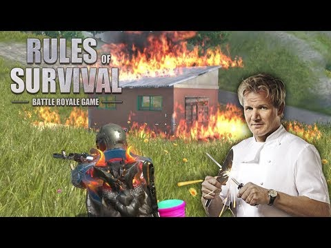 WE COOKED THE LAST TEAM! Rules of Survival Gameplay
