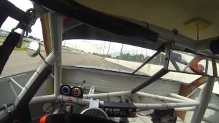 JR Motorsports NASCAR late model stock at Myrtle Beach Speedway with Christian Eckes