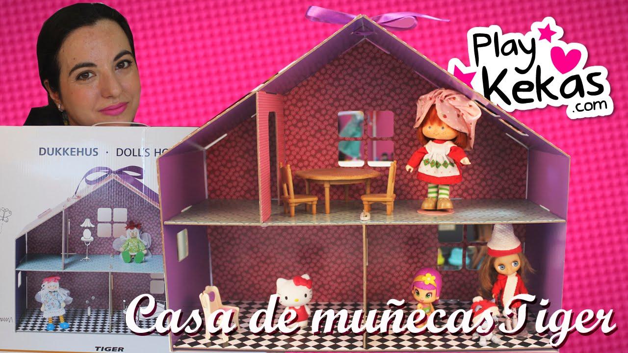 Casa de mu ecas del tiger puzzle desmontable youtube - Casa de munecas ...