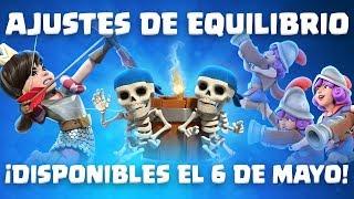 Clash Royale: Ajustes de Equilibrio disponibles el 6 de mayo