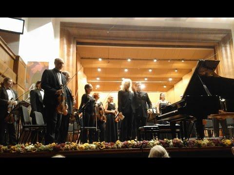 Nebojsa Maksimovic - Rajicic: Piano Concerto No. 3 (live @ Bemus 2016)