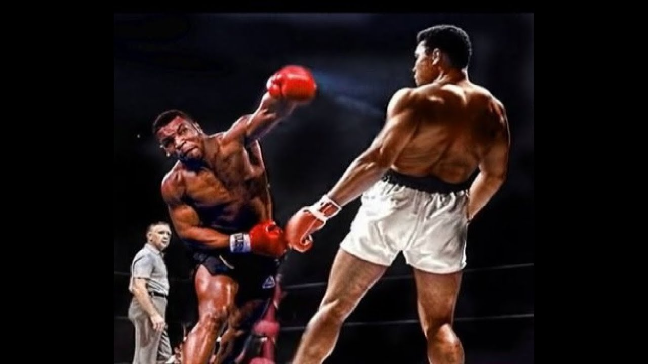 Boxing Ring Wallpaper Hd Ali Vs Tyson Masters Of Opposite Styles Comparison
