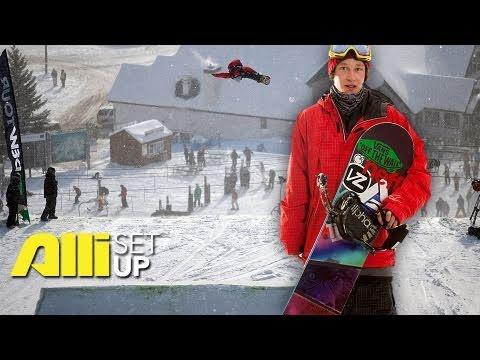 alli snowboard setup nick poohachoff youtube. Black Bedroom Furniture Sets. Home Design Ideas
