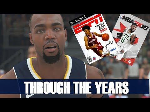 PAUL MILLSAP THROUGH THE YEARS - COLLEGE HOOPS 2K5 - NBA 2K18