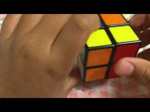 How to make one side of 2x2 Rubik's cube?