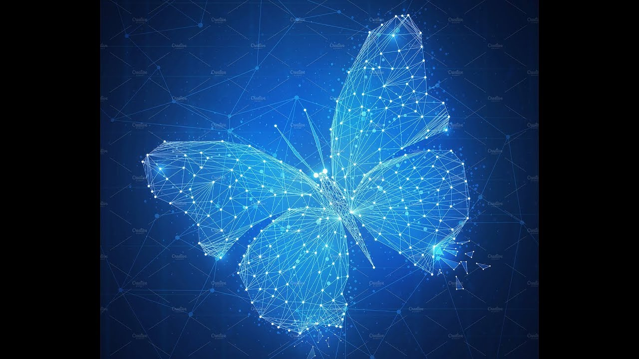 LiveStream1 - Create Butterfly Polygon Plexus in Cinema 4D & After Effect -  Tutorials by Phi Ho