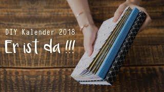 DIY Kalender 2018 - Es geht looooos !!!