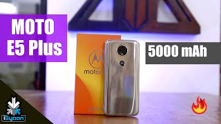 Motorola Moto E5 Plus with 5000 mAh Battery Unboxing First Look