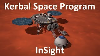 KSP - InSight Mars Lander - Pure Stock Replicas