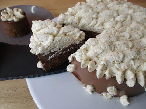 Recette du délice au chocolat et aux pistaches - Entremet chocolat
