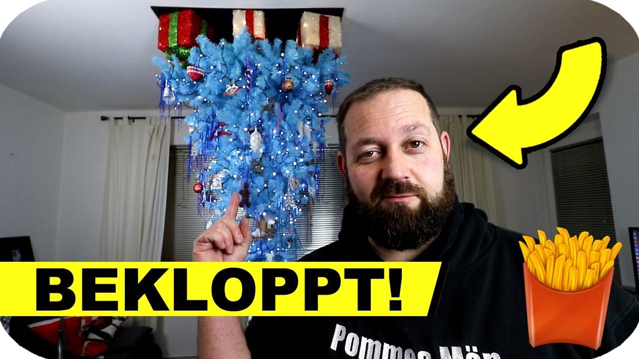 Weihnachtsbaum An Der Decke Aufhängen Youtube