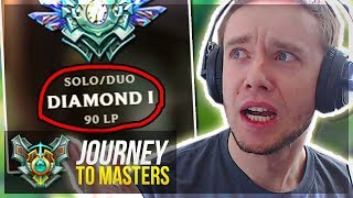 1 WIN FROM MASTER PROMOS... - Journey To Masters   League of Legends