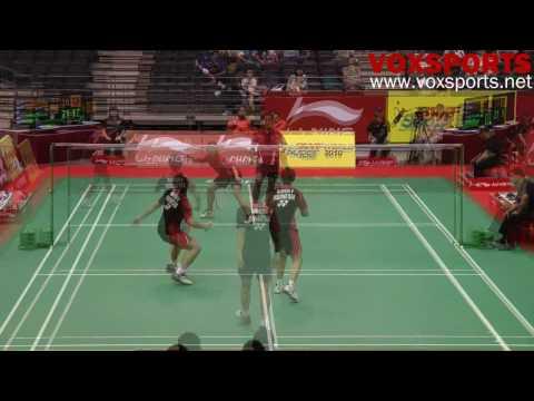 LNSO 2010 : Gunawan/Marissa (INA) [3] vs Saputra/New (SIN)