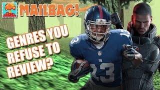 Are There Genres You Refuse to Review? (Mailbag #1) - Defunct Games