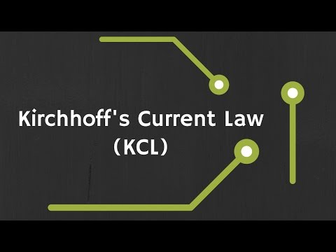 Kirchhoff's Current Law (KCL) explained