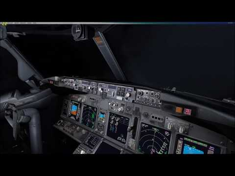 LTCD Erzincan Airport Approach and Landing with 737-800wl NGX