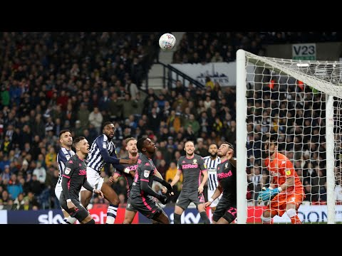 West Bromwich Albion v Leeds United highlights