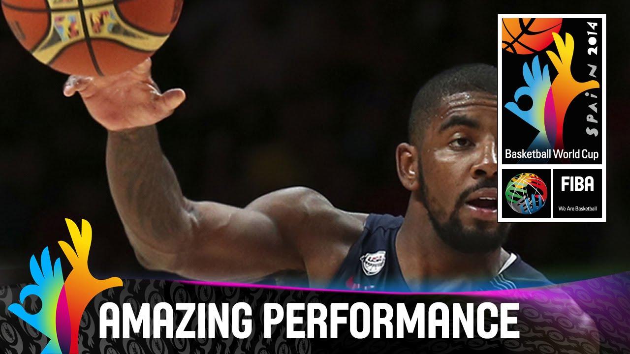 cb5c6a1a5b54 Kyrie Irving - Amazing Performance - 2014 FIBA Basketball World Cup ...