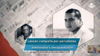 """Durante la 76 Asamblea General de la Sociedad Interamericana de Prensa se presentó la campaña """"Lápices Inmortales"""" que está basada en tres casos emblemáticos de periodistas que la SIP abraza como símbolos de lucha"""