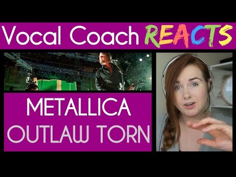 Vocal Coach reacts to Metallica The Outlaw Torn (Live)