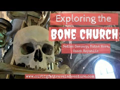 Exploring The Bone Church - Sedlec Ossuary, Kutna Hora, Czech Republic
