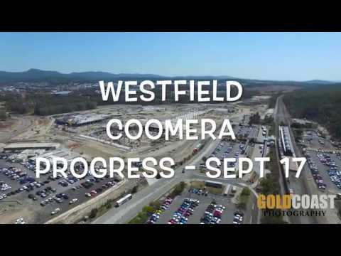 Westfield Coomera - Progress aerial photography - YouTube