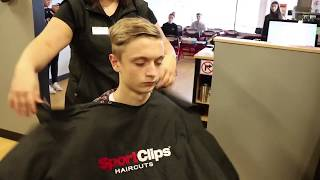 Sport Clips Haircuts where we specialize in haircuts for men and boys