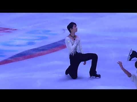 Final Gala Rostelecom Cup Yuzuru Hanyu (fancam)