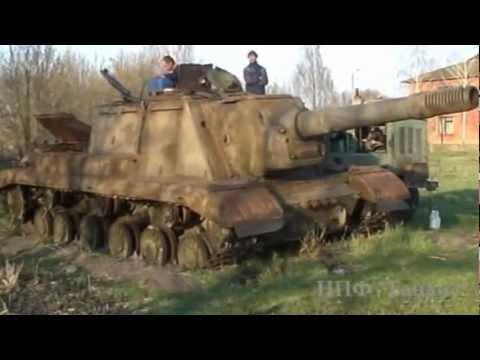 Оживший 'Зверобой' ИСУ-152