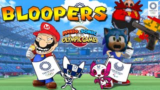 Mario and Sonic at the Tokyo 2020 Olympic Games Bloopers