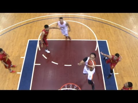 Dilinger-Faundo Pick 'n Roll Play   Philippine Cup 2015-2016