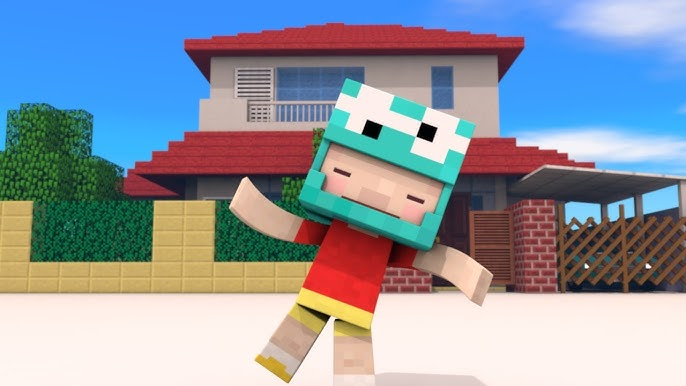 Minecraft Animation Shin Chan Dance