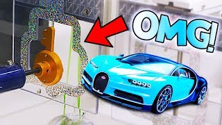 WON A BUGATTI FROM KEYMASTER! || Arcade Games!