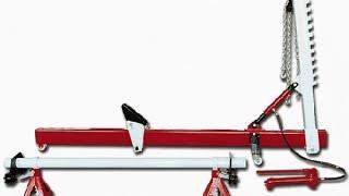 стапель для рихтовки кузова своими руками. компактный и простой