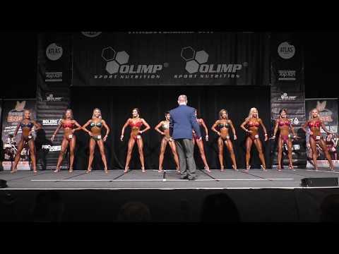 Juniorinnen Bikini Fitness bis 165cm @Int Junioren & Masters Deutsche 2019