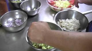 Shrimp & Crab Dishes At Val's Marina