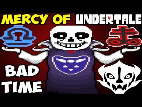 Sans стал Богом ГИПЕР BAD TIME   The Mercy of Undertale #1