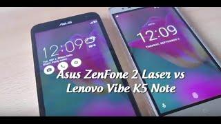 asus zenfone 2 laser vs lenovo vibe k5 note comparison tests design performance etc