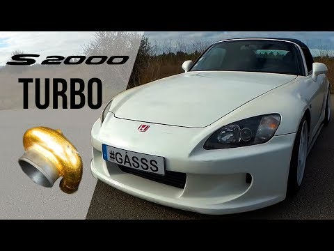 Honda S2000 TURBO no canal do Gásss - Portugal Stock and Modified Car Reviews